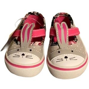 🆕 Bunny Mary Jane Sneakers - Baby Size 2
